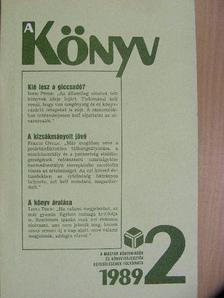 Bencsik Gábor - A Könyv 1989/2. [antikvár]