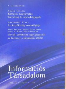 Anabel Quan Haase - Információs Társadalom 2002/1. [antikvár]