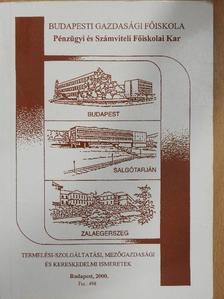 Dr. Horváth András - Termelési-szolgáltatási, mezőgazdasági és kereskedelmi ismeretek [antikvár]