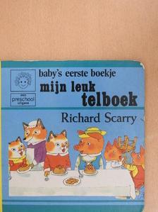 Richard Scarry - Mijn leuk telboek [antikvár]