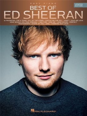 SHEERAN, ED - ED SHEERAN, BEST OF... EASY PIANO UPDATED EDITION