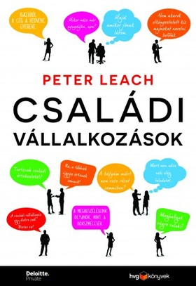 PETER LEACH - Családi vállalkozások [eKönyv: epub, mobi]
