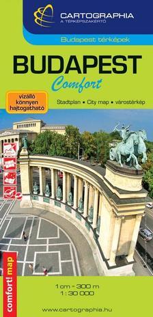 Cartographia - Budapest Comfort térkép 1:30 000