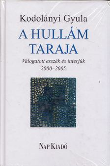 Kodolányi Gyula - A hullám taraja - Válogatott esszék és interjúk 2000-2005 [antikvár]