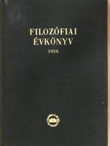 Bohó Róbert - Filozófiai évkönyv 1956 [antikvár]