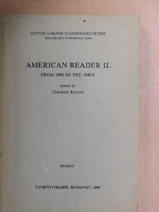 Albert Halper - American Reader II. [antikvár]