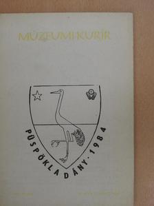 Bartha Elek - Múzeumi Kurír 1983. július [antikvár]