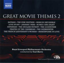 ELFMAN, MANCINI, SCHIFRIN, LAI, WILLIAMS - GREAT MOVIE THEMES 2 CD