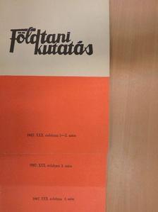 Csiky Gábor - Földtani Kutatás 1987/1-4. [antikvár]