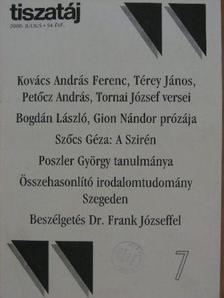 Báger Gusztáv - Tiszatáj 2000. július [antikvár]