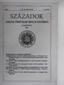 C. Tóth Norbert - Századok 2003/4. [antikvár]