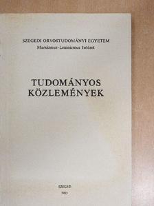 Bárány Ferenc - Tudományos közlemények [antikvár]