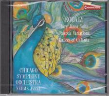Kodály Zoltán - HÁRY JÁNOS SUITE, PEACOCK V., DANCES OF GALÁN. CD