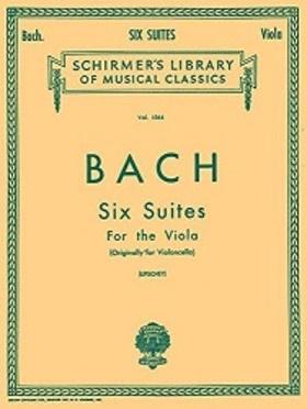 J. S. Bach - SIX SUITES FOR THE VIOLA (ORIGINLLY FOR VIOLONCELLO) (LIFSCHEY)