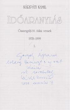 Kárpáti Kamil - Időaránylás I. (dedikált) [antikvár]