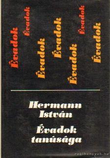 Hermann István - Évadok tanúsága [antikvár]