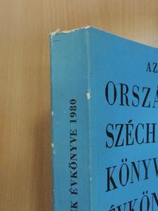Bánáti Istvánné - Az Országos Széchényi Könyvtár Évkönyve 1980 [antikvár]