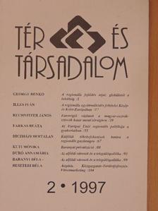 Baranyi Béla - Tér és Társadalom 1997/2. [antikvár]