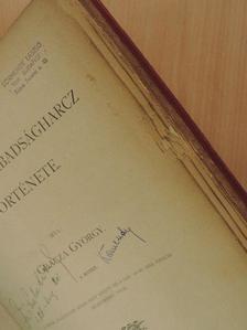 Gracza György - Az 1848-49-iki Magyar Szabadságharcz Története I-V. [antikvár]