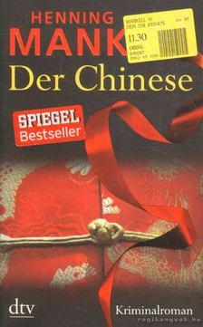 Henning Mankell - Der Chinese [antikvár]