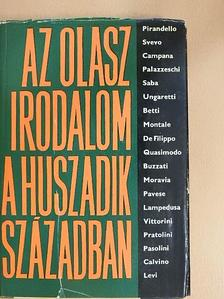 Gábor György - Az olasz irodalom a huszadik században [antikvár]