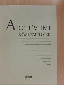 Baráth Magdolna - Archívumi közlemények 18. [antikvár]