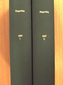 Pomogáts Béla - Nagyvilág 1987. január-december I-II. [antikvár]