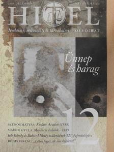 Ágh István - Hitel 2008. december [antikvár]