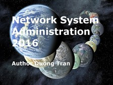 Tran Duong - Network System Administration 2016 [eKönyv: epub, mobi]