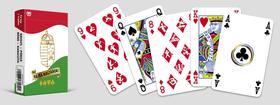 CartaCo kft - Hajrá magyarok! Szurkoló römi kártya (arcfestő kártyával) Sport