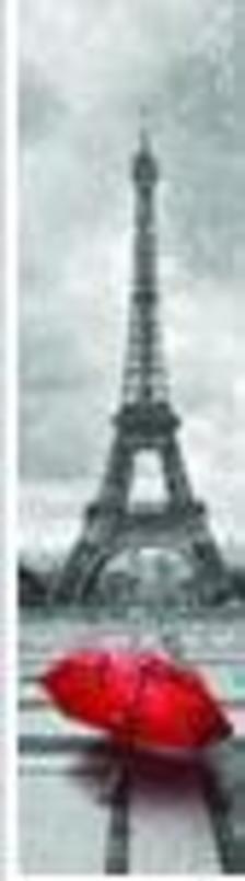 PAR01 - PARIS IN RED - 3D KÖNYVJELZŐ