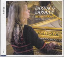 BARTÓK BÉLA - BARTÓK & BAROQUE CD VÁRADI HELGA