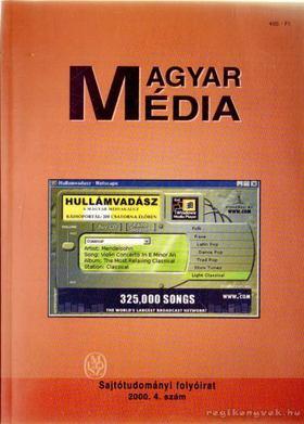 Buzinkay Géza - Magyar média 1. évf. 4. szám [antikvár]