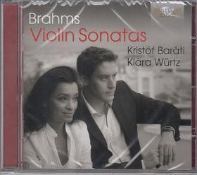 BRAHMS... - VIOLIN SONATAS CD BARÁTI KRISTÓF, WÜRTZ KLÁRA