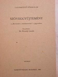 """Ady Endre - Szöveggyűjtemény a """"Bevezetés a műelemzésbe"""" c. jegyzethez [antikvár]"""