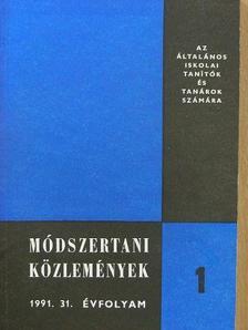 Agárdy Sándor - Módszertani közlemények 1991/1-5. [antikvár]