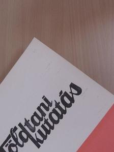 A. Vozárová - Földtani Kutatás 1980/1-4. [antikvár]