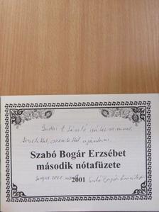 Bánfalvi József - Szabó Bogár Erzsébet második nótafüzete (dedikált példány) [antikvár]