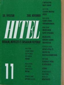 Ágh István - Hitel 2000. november [antikvár]