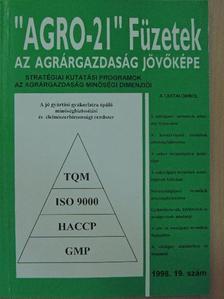 """Bikfalvi Istvánné - """"AGRO-21"""" Füzetek 1998/19. [antikvár]"""
