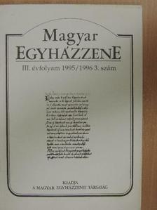 Benkő András - Magyar Egyházzene 1995/1996. 3. [antikvár]
