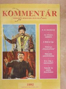 Arie Kaser - Kommentár 1992/5. [antikvár]