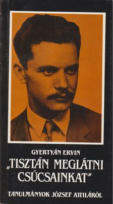 Gyertyán Ervin - Tisztán meglátni csúcsainkat [antikvár]