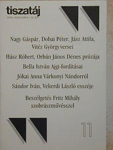 Bakonyi István - Tiszatáj 2000. november [antikvár]