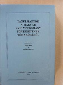 A. Molnár Ferenc - Tanulmányok a magyar nyelvtudomány történetének témaköréből [antikvár]