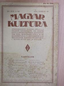 B. B. - Magyar Kultúra 1928. április 20. [antikvár]