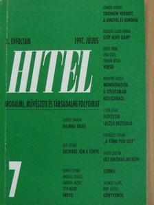 Ágh István - Hitel 1997. július [antikvár]