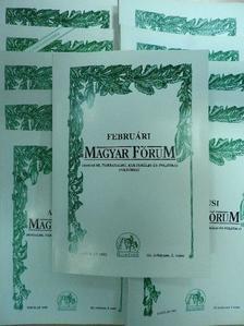 B. Napóleon - Magyar Fórum 1995. (nem teljes évfolyam) [antikvár]