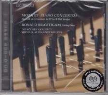 MOZART - PIANO CONCERTOS NOS 20 & 27 SACD RONALD BRAUTIGAM