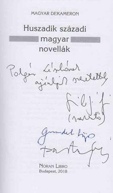 Szilágyi Zsófia (szerk.) - Huszadik századi magyar novellák (dedikált) [antikvár]